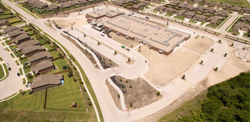 Prestwyck-Elementary-PISD_Drone-Aerial-2016_Construction_FEATURED